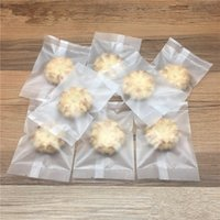 2021 400Pcs Lot Heat Seal Baking Plastic Packaging Pouch Food Snack Pack Bag Matte Clear Biscuit Cookies Candy Package Bags