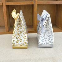 Süße Kuchen Geschenk Candy Boxes Taschen Jubiläums-Party Hochzeits-Gefallen-Geburtstags-Party-Angebot 100pcs bevorzugt großhandel 1256 v2