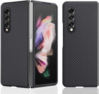 Aramid Case Carbon Fiber Phone Cases for Galaxy Z Fold 3 5G case Super Light and Thin 2 Shell ing Anti Drop