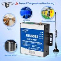 درجة الحرارة الرطوبة مراقبة AC / DC الطاقة المفقودة إنذار عن بعد دعم المؤقت تقرير التطبيق التحكم RTU5023 GSM 3G 4G أنظمة
