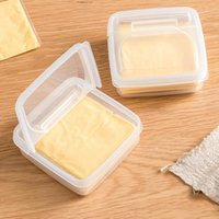 Bols fromage tranche de stockage conteneur conteneur réfrigérateur oignon spécial gingembre gingembre fruit de fruit croustillant beurre cubes emballé séparément