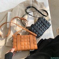 Small PU Leather Crossbody Bag For Women 2021 Winter Fashion Shoulder Bag Designer Female Travel Handbags and Purses