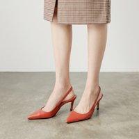Zhenzhou cm / cm / cm / pompes Nouveaux chaussures pointues Sandales Stiletto pointues de travail de travail de travail creux mode Hauts High Heels1