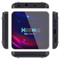 H96-MAX 4GB 32GB RK3318 Quad Core Smart TV Box WiFi 2.4G 5G Bluetooth4.0 Android 11.0 TX3 MINI