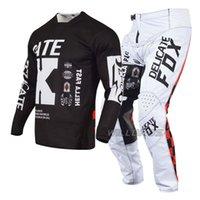 Delicate Fox 180 Illmatik Jersey Pant Bicicleta Gear Set MTB MX Motocross Motorbike Corrida Terno