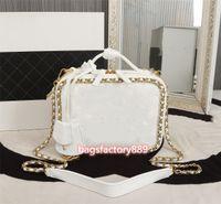 Pick and Sums SS Borse BAGS Mall Vanity Case Casella cosmetica Imballaggio Beauty Burst Aggiunto Catena anulare è più nobile di Hold Moda Tas Naisi