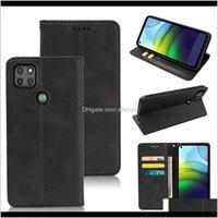 Cep Telefonu Kılıfları Retro Cüzdan Kılıfı Standı Business PU Deri Kapak Nokia 13 53 24 34 83 22 23 42 Motorola G8 Güç Lite Için One Fusion Oqou4