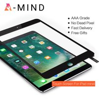 """For IPad Mini 4 Mini4 4th Gen 7.9"""" A1538 A1550 Touch Screen Digitizer Front Outer Panel Glass Repair Replacement Tablet PC Screens"""
