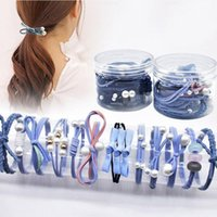 Hair Accessories 12 PC   Set Cute Girl Band Tie Small Fresh Head Rope Elastic Rubber Ponytail