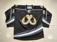 2020 Toledo Walleye Tyler Sikura Hockey Jersey Embroidery Stitched Customize any number and name Jerseys