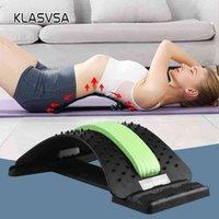 Klasvsa عودة نقالة مدلك الرقبة الخصر الألم الإغاثة سحر دعم تدليك المنزل مشجعا العضلات الاسترخاء معدات اللياقة