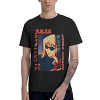Men's T-Shirts Bebop Cowboy Julia Men Graphic T Shirt Short Sleeve Anime Manga Tshirts Cotton Tees Top Clothes