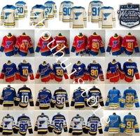 "St ""Louis"" Блюз Хоккей Джерси Владимир Тарасенко Дэвид Перрон Райан О'Рейли Колтон Парайко Брайден Шенн Стин Binnington Ретро ""НХЛ"""