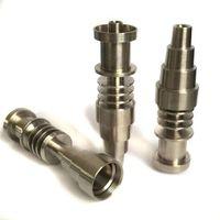 Zigarettenringrohre Halterzubehör 10mm 14mm19mm 6 in 1 elektrisch domeless Titan Nagel, mit männlichem und weiblichen Gelenk