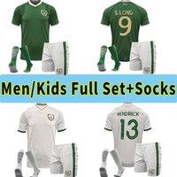 2021 Irlanda National Soccer Jersey 20 21 Duffy McClean Doherty Hendrick Camisa de Futebol Uniformes Adulto Homens Conjuntos Kids Socks Kits Calças