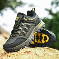 Outdoor shoes mountaineering antiskid running exercise sports casual shoes#A20