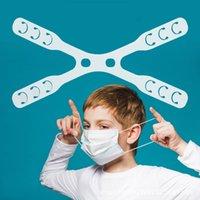 X Shape Face Mask Hook Extender Adjustable Belt Elastic Cord Mouth Masks Clips Ears Grips Buckle Strap Ear Protector Hooks Earloop String YL0375