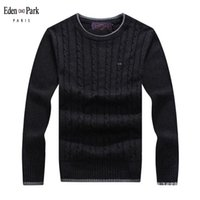 Hiver High Quality Eden épais pull chaud pull pull sweaters Slim Fit Park Pullover Hommes Tricoter Homme 087