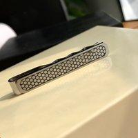 M-01 Diseñador de lujo CLIP CLIP Titanio Acero Metal Joyería de moda para hombres con caja