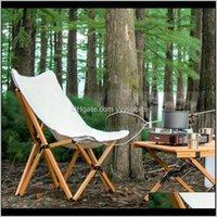 Lager- und Wandern Sport im Freien Drop Lieferung 2021 Gartenmöbel Stühle Camping Strandstuhl Falten Massivholz Tragbare Gartenstuhl