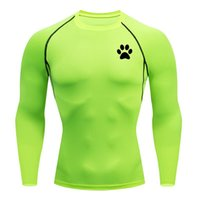 Men's T-Shirts Running Quick Dry Compression Sport Undershirt Fitness Gym Tights Blouse Tees Male Soccer Jersey Sportswear Black