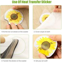 Sublimation Coaster Neoprene DIY Blank Table Mats Heat Insulation Thermal Transfer Cup Pads Coasters Customized Gifts DDA5585