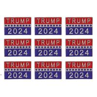 ترامب 2024 الانتخابات الرئاسية بروش إمدادات حزب الولايات المتحدة الأمريكية الجمهورية شارة دبوس معدنية DWD10052
