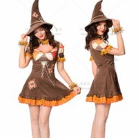 2021 Wizard of Oz drama stage costume halloween game Costume Witch Costume Adult Female_xj