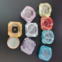 3g 5g diamond cream box Separate bottle Eye shadow Jar Cosmetic packing boxes Vial smaple lipstick sample Jars