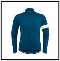 Rapha 팀 사이클링 긴 소매 유니폼 의류 MTB 산 통기성 경주 스포츠 착용 자전거 Maillot 부드러운 피부 친화적 인 50489