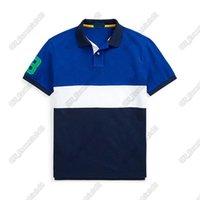 Horse Lable Herren Polo Shirt 21ss Designer Männer Kleidung Amerikanische Flut Marke Tee Casual Street Hemden