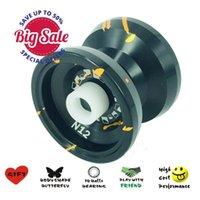 Metal Yoyo + Glove + 3 Strings Professional Yo yo Set Classic Toys Kids Toy Gift 97BC A0511