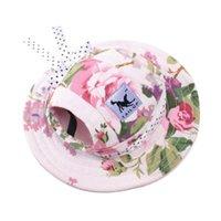 SPEETE Liefert Hundekleidung Mütze Atmungsaktive Sonnenhut Prinzessin Hüte für Katzen und Hunde 6 Farben GWF10874