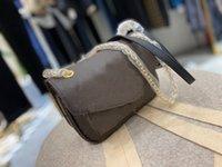 Высокое качество кожи женские сумки на плечо дизайнерские кошельки сумки подлинные кожаные женские женские поперечины мессенджер цепь Лулу сумка 22 * 14 * 8см