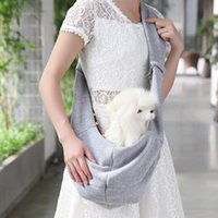 Double-sided Dog Crossbody Shoulder Bag Simple Portable Cotton And Linen Outing Small Sling Strap Pet Supplies Handbag Free Car Seat Covers