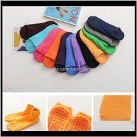 Other Festive Party Supplies Home & Garden Drop Delivery 2021 Glue Anti-Slip Floor Adult Children Winter Relent Short Sock Houses Yoga Sport
