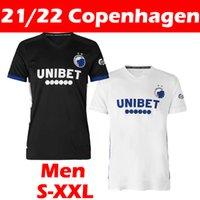 21/22 Copenhagen Futebol Jerseys 2021 2022 Vento Singh Stage Lerager Camisa De Futebol Khocholava Wilczek Zeca Home Away Maillots de pé