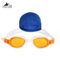 Bathing Cap Swimming Goggles Set Unisex Plating Waterproof Goggles Adult Professional Swimming Glasses bbyAtd