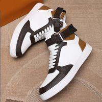 Rivoli Sneaker Huyer Sight Shoes Suede Becerro Cuero Suela exterior Lujitadores Diseñadores Zapatillas de deporte Boombox Runner Velcro High Top Casual Shoe Trainer