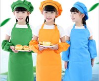 Baby, Cosplay 3pcs set Children's custom-made painting clothes art gallery apron + hat sleeves Kids Clothing