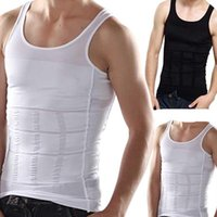 Men's Body Shapers Sweat Vest Shaper Slimming Men Waiste Trainer Corset Tummy Control Shaperwear Compression Abdomen Underwear