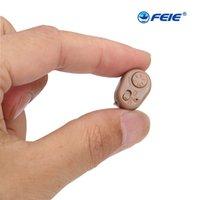 S-213 Amplificateur intra-auriculaire SON SUPER MINI Aide auditive Aide Dispositif Tone Réglable Tonalité des oreilles personnelles Outils de soins de haute qualité