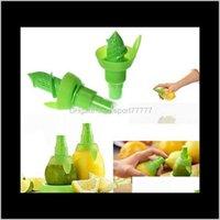 Herramientas de verduras Cocina, Comedor Bar Home Garden Drop Entrega 2021 Creative Squeeze Juicer Juicer Lemon Spray Mist Orange Fruit SPREEZER SPR