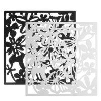 12pcs for Fashion 12 Pz Farfalla Bird Bird Flower Appeso Schermo Partition Divider Pannello Stanza Tenda Casa Bianco / Nero / Rosso