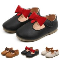 Sneakers Toddler Infant Kids Baby Girls Leather Bowknot Party Princess Shoes Sandals Flat Soft Bottom Casual Summer