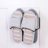 Clothing & Wardrobe Storage Wall Mounted Shoe Rack Foldable Shoes Hanger Slippers Drain Living Room Home Supplies