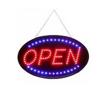 LED offenes Zeichen für das Geschäft 19 * 10 Zoll (größere Größe) LEDs Geschäfte Beleuchtung Neonzeichen Stead Light Busines Storefront, Wände, Büro, Fenster, Ladenlicht, Bar Crestech168