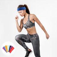 10 pcs suor headbands Cabeça de esportes Sweatbands para homens atléticos e suor