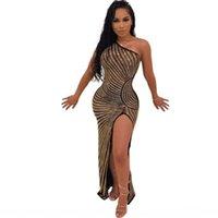 Womens Hollow Bodycon Dress sin mangas sin tirantes Bodycon Vestidos Out Alto Vestido de mujer Wiaísta Pant Pant Vestido para mujer Club de noche de fiesta # AD8