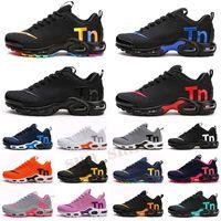 Mercurial Plus Tn KPU بيع 2021 حار mercurial plus tn ultra se الثلاثي الأسود الأبيض الأزرق تنفس شبكة الاحذية الرياضية زائد tn رجل المدربين أحذية رياضية 36-45